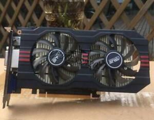 ASUS Graphics card GTX750TI-OC-2GD5 GeForce GTX 750 Ti 2GB GDDR5 128Bit DVI