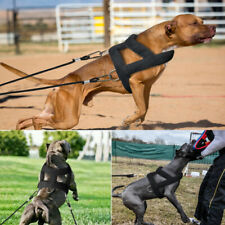 Dog Weight Pulling Harness for Pitbulls Training Adjustable Medium Large Vest