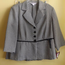 MY VALENTNE Ladies Jacket & Skirt Size 12P / NWT