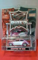 Maisto Chopped VW Bug Purple/Silver Urban Die-Cast Collection Die-Cast Car 1:64