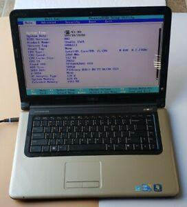 Dell Vostro 1569 Core i5 M430 2.27GHz 2GB RAM 500GB HDD WIFI WEBCAM BIOS TESTED