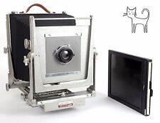Calumet 8X10 camera with Schneider G Claron 240mm F9 lens + holder NEW BELLOWS