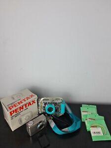 Pentax Optio 430 RS + Pentax Waterproof Case + Accessories