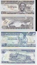 ETHIOPIA ETIOPIA AFRICA 1 5 BIRR 2006 FDS UNC