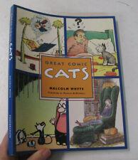 Wit Humor Animals Pets Caricatures Cartoons Great Comic Cats Cat Illus. 2001