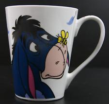 DISNEY EEYORE | Ceramic Mug Cup | Winnie The Pooh | Bee Butterfly | 11.5 cm Tall