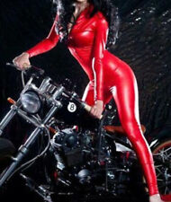plus size Sexy catsuit latex bodysuit jumpsuit cat woman cosplay Striptease wear