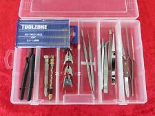 Box Set 7 Model Makers Tools Kit Drills Snips Tweezers & Pin Vice Suit Warhammer