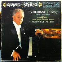 RUBINSTEIN the story chopin no 2 LP Mint- LSC-2265 Living Stereo Pablo Picasso