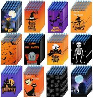 Elcoho 72 Pieces Halloween Mini Spiral Notepads Halloween Notebooks in 12 for x