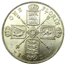 More details for 1923 king george v silver florin coin - great britain