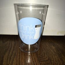 Think About Your Drink Healthy Choices/Nutrition Plastic Beverage Cup