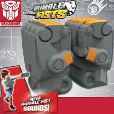 Transformers Bumblebee Motion Activated Rumble Fists Gloves Fight With Sound