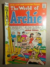 silver age Archie giant series comicbook #156 the world of Archie 1968 G to Vg