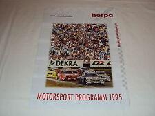 W/2/13/2 Modell Modellauto Katalog Prospekt Herpa Miniaturmodelle Motorsport ´95