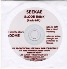 (CE947) Seekae, Blood Bank - 2011 DJ CD