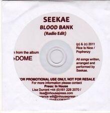(CE947) Seekae, Blood Bank - 2011 DJ CD