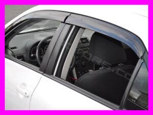 Corolla 2009 2010 2011 2012 2013 Premium window visors w/ clip-on brackets