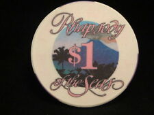 Royal Caribbean Rhapsody of the Seas $1 Casino Chip Volcano