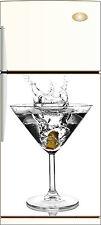 Sticker frigo électroménager déco cuisine Cocktail 60x90cm Réf 031
