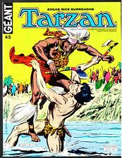 TARZAN GEANT n°45 # # 1980 SAGEDITION