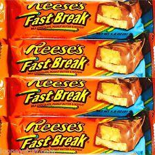 Reese's Fast Break Peanut Butter Bar 24 1.8oz (56g) Bars Fastbreak Free Shipping