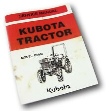 Kubota Heavy Equipment Manuals & Books for Kubota Tractor | eBay on