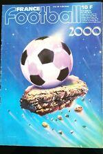 France Football du 07/08/1984; Spécial numéro 2000, numéro historique, rétrospéc
