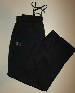 UNDER ARMOUR LARGE LOOSE   BLACK  EXERCISE / TRAINING  Pants Men's  P589
