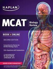 Kaplan MCAT Biology Review: Book + Online (Kaplan Test Prep), Kaplan, Good Book