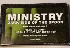 Ministry Dark Side Of The Spoon Promo Cassette