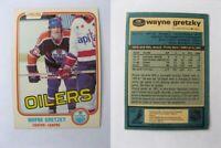 1981-82 OPC O-Pee-Chee #106 Gretzky Wayne creases   oilers $ 60