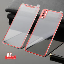 3D 4D 5D 6D Curved Full Cover Tempered Glass Screen Protector iPhone X 8 7 Plus