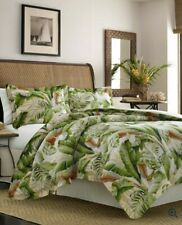 Tommy Bahama Palmiers Duvet Cover Set, King, Medium Green