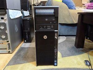 16 CORE HP Z620 V2 DUAL XEON 2x E5 2640 V2 48GB RAM 480GB NEW SSD FIREPRO V4900