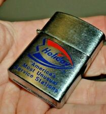 Vintage HOLIDAY America's Most Unusual Service Stations Cigarette Lighter OIL