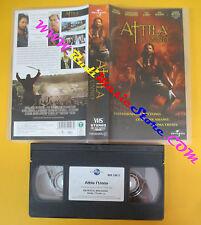 VHS film ATTILA L'UNNO 2002 Gerard Butler UNIVERSAL 749052493U 01 (F111) no dvd