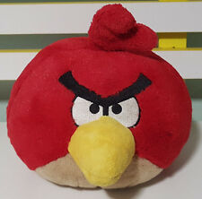 ANGRY BIRDS PLUSH TOY! ABOUT 17CM TALL RED BIRD SOFT TOY! QUITE FAT!