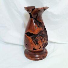 Redwood Burl Bud Vase Wooden Art