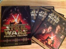 Star Wars Prequel Trilogy (DVD,2008,6--Disc,Canadian Sensormatic WS)Region 1