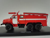 URAL AC-40 43202 PM-102B Feuerwehr 1/43 Start Scale Models SSM1232 Fire Engine