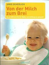 Von der Milch zum Brei - NEU - So ernähren Sie Ihr Baby von Anfang an gesund