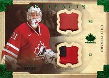 13-14 Artifacts PATCH and JERSEY xx/24 Made! Chet PICKARD #129 - TEAM CANADA