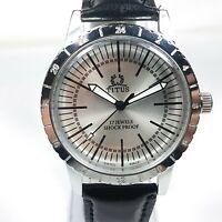 Titus Mechanical Hand Winding Movement Mens Analog Dial Wrist Watch AC157