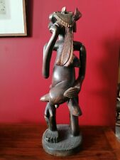 More details for austral / pacific ethnographic carved wooden fertility figure, 50cm high