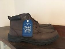Faded Glory Men's Casual Ankle Boots Size 7.5m Brown New w/Box & Tags Fast Ship