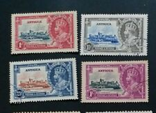 ANTIGUA 1935 1d to 1s  SG 91 -94 Sc 77 - 80 set 4 FU