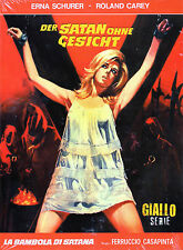 The Doll Of Satan - (Limited Edition Media Book ) - Giallo - Blu Ray/Dvd -