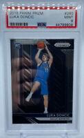 Panini Prizm #280 NBA Dallas Mavericks Luka Doncic Basketball RC PSA 9