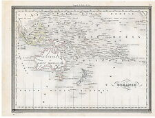Карты Австралии и Океании